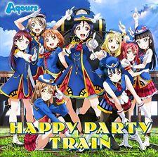 New Aqours HAPPY PARTY TRAIN Love Live Sunshine CD Blu-ray Japan LACM-14590 EMS