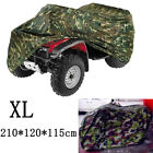 Camo XL Waterproof ATV Cover For Yamaha Grizzly YFM 300 350 400 450 550 600 660