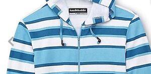 Hoodie Buddie Zip Sweatshirt Jacket Earbuds MP3 Headphones New XL Mens Fast Ship