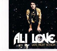 (DZ540) Ali Love, Late Night Session - 2007 DJ CD