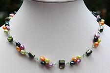 Modeschmuck kette  Handgefertigte Modeschmuck-Halsketten aus Perlen für Damen | eBay