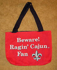 Ragin' Cajun Fan ~ University of Lousiana Lafayette Tapestry Tote Bag
