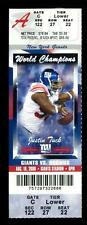 Football Ticket New York Giants 2008 Cleveland Browns 8/18