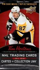 2017-18 Tim Hortons Upper Deck Unopened Packs - Crosby Auto # Combine Shipping!