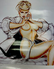 Sorayama Limited Edition Signed Lithograph Print  Art 89/450 Must See Gorgeous