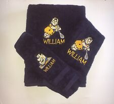 Fred Flintstone Personalized Towels