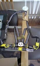 Toddler Walking Reins Mothercare Baby Harness Striped Black White Lime