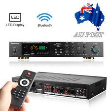1120W Bluetooth Hi-Fi POWER AMPLIFER Stereo Surround Home Karaoke Cinema + RC