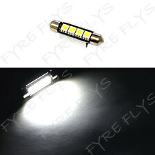 1 Super White 42mm Canbus Error Free LED Bulbs Dome Map Cargo Light W1x1