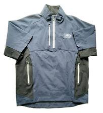 Footjoy DryJoys Tour XP SS 1/2 Zip Jacket Golf Navy Small Men EUC