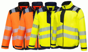 Portwest T500 PW3 Hi-Vis Work Jacket
