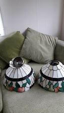Pair Of Vintage Tiffany Ceiling Lights