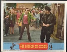 JONATHAN WINTERS THE RUSSIANS ARE COMING EVA MARIE SAINT LOBBY CARDS LC3021