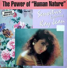 "SENSITIVE ft KAY JEAN - THE POWER OF HUMAN NATURE MICHAEL JACKSON 12"" / MAXI 45T"