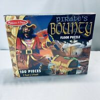 MELISSA & DOUG  Pirates Bounty Floor Puzzle NEW in Package 100 pc 2'x3'