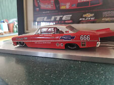 1967 CHEVY II NOVA DRAG SLOT CAR ALL NEW OUTLAW 10-5 CAR SUPER NICE DETAIL
