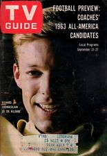 1963 TV Guide September 21-Richard Chamberlain-Dr. Kildare; Ozzie Nelson;W Hayes