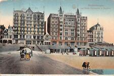 BLANKENBERGHE BELGIUM HOTEL GERMANY FELDPOST POSTCARD 1916 (82)