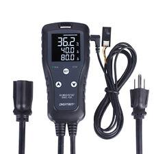 Digital Humidity Controller Humidistat Dehumidistat Plug Outlet Switch w Sensor