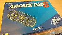 NEC PC Engine Arcade Pad 6 type duo rx import jap PCE-TP1 ultra rare en boite