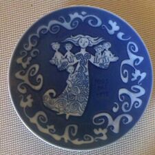 "Porcelain Mors Dag Mother's Day 1972 Collector Plate 6"", Royal Copenhagen"
