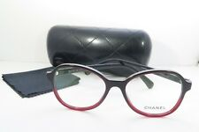 Chanel Women's Red Glasses with case 3340 c.1559 53mm