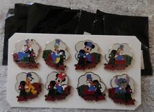 Disney Pin WDW 2014 PWP Collection Train Conductor Set Of 8 Pins New