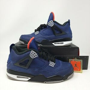 Nike Air Jordan 4 Winter Loyal Blue 2019 Size 10 Blue White Black CQ9597-401 IV