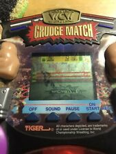 Vintage Tiger Electronics WCW Grudge Match Hollywood Hogan Vs Goldberg Vintage