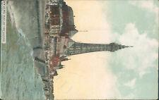 Blackpool new sea wall palace & tower c1911