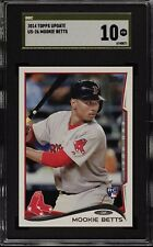 2014 Topps Update Batting Mookie Betts RC SGC Pristine 10 Gold Label