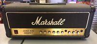 Vintage Marshall Lead 100 Mosfet Guitar Amp Amplifier Head 3210