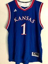 Adidas NCAA Jersey Kansas Jayhawks #1 Blue sz 2X