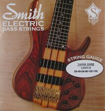 KEN SMITH TCRL-6 TAPER CORE STEEL BASS STRINGS, LIGHT GAUGE 6's - 28-120