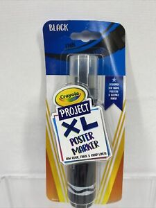 Crayola Project XL Poster Marker BLACK Low Odor For Signs Posters COMBINE SHIP!
