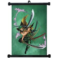 sp211574 One Piece Zoro Japan Anime Home Décor Wall Scroll Poster 21 x 30cm