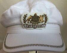 STETSON ALLENPORT COTTON GERMANY GREEK FISHERMANS CAP WHITE L 59CM CAPTAIN CAP