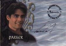 BUFFY THE VAMPIRE SLAYER: Season 4 - Adam Kaufman 'Parker' #A18 Autograph Card