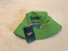 ddf1d4acb27 NEW Speedo Babys Green Sun Hat UV50 Block The Burn L XL With Chin Strap