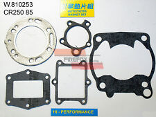 HONDA CR250 CR 250 1985 TOP END KIT GUARNIZIONI