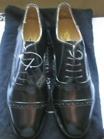 ( NEW ) Samuel Windsor Mens Shoes Black Leather Lace Up & soles UK Sizes 7