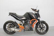 2013 KTM DUKE 125 DAMAGED SPARES OR REPAIR ***NO RESERVE*** ()