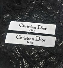 Dior Clothing Label Designer Shirt Tag Replacement Sewing Accessory