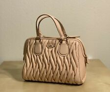 New Coach Gathered Leather Mini Nolita Satchel 34370