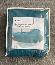 Maxkare Electric Heated Polar Fleece Throw Blanket 50'' X 60'' Lightweight Cozy