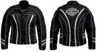Harley-Davidson Illumination 360 Reflective Jacket Vents w Liner 98312-11VW MED