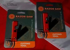 24 Saw Razor combo survival tool emergency tactical bug outbag items prepper 2