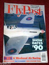 Flypast 1990 April V Bombers,DC-3,Spitfire,Norseman,Hawkinge Avenger