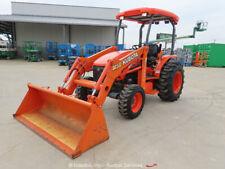 2014 Kubota M59 4Wd Front End Loader Utility Tractor Pto Diesel bidadoo