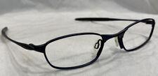 Authentic Oakley O2 Midnight 11-612 Eyeglasses Frames 48[]19-130